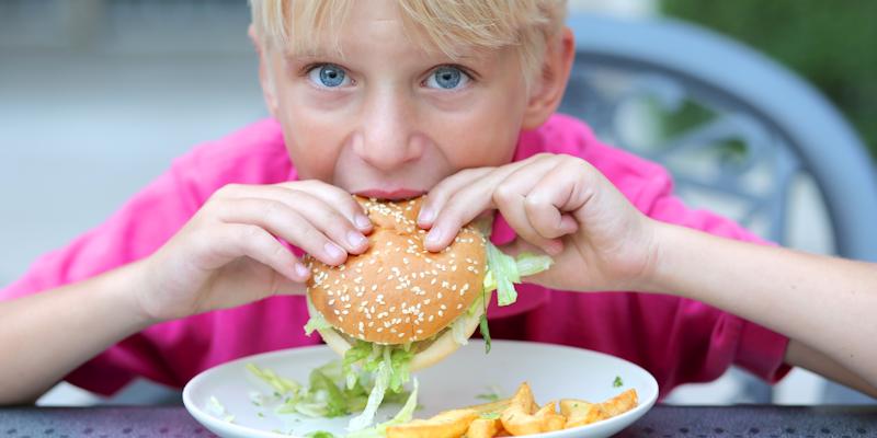 childrens menu restaurant