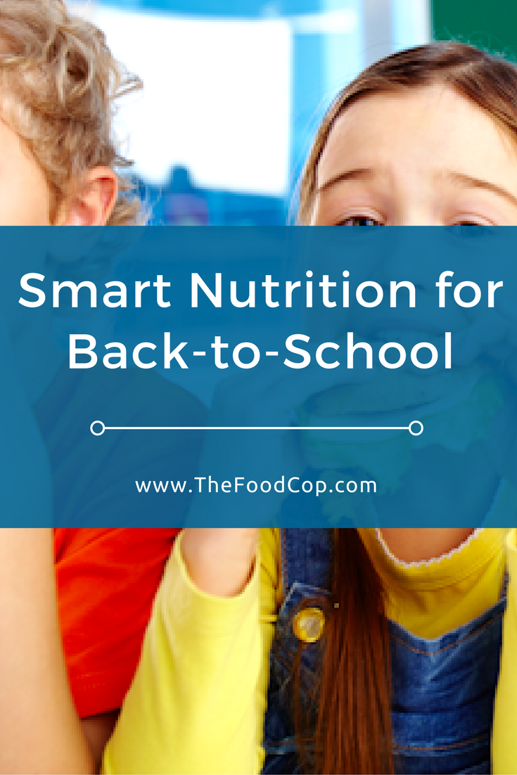 school nutrition | kids nutrition | The Food Cop