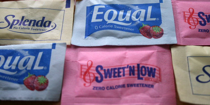 artificial sweeteners sugar substitutes