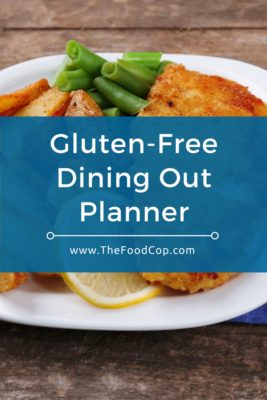Gluten-Free Dining Out Planner