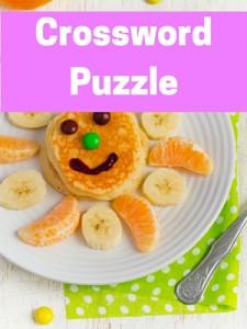 Kids - crossword puzzle
