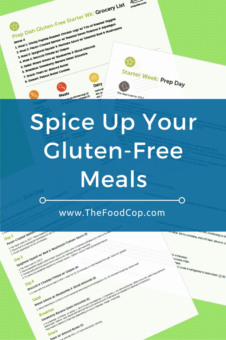 If you're on a gluten-free diet, going food shopping and creating meal plans can be challenging, regardless of whether you just started on a gluten-free diet or you've been on one for a while. Check out these gluten-free meal plans, delivered weekly to your inbox!