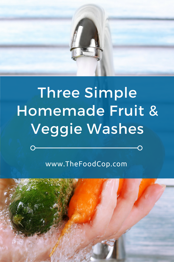 Help get rid of dangerous bacteria on your produce with these simple-to-make homemade fruit and veggie washes. Click to read through.