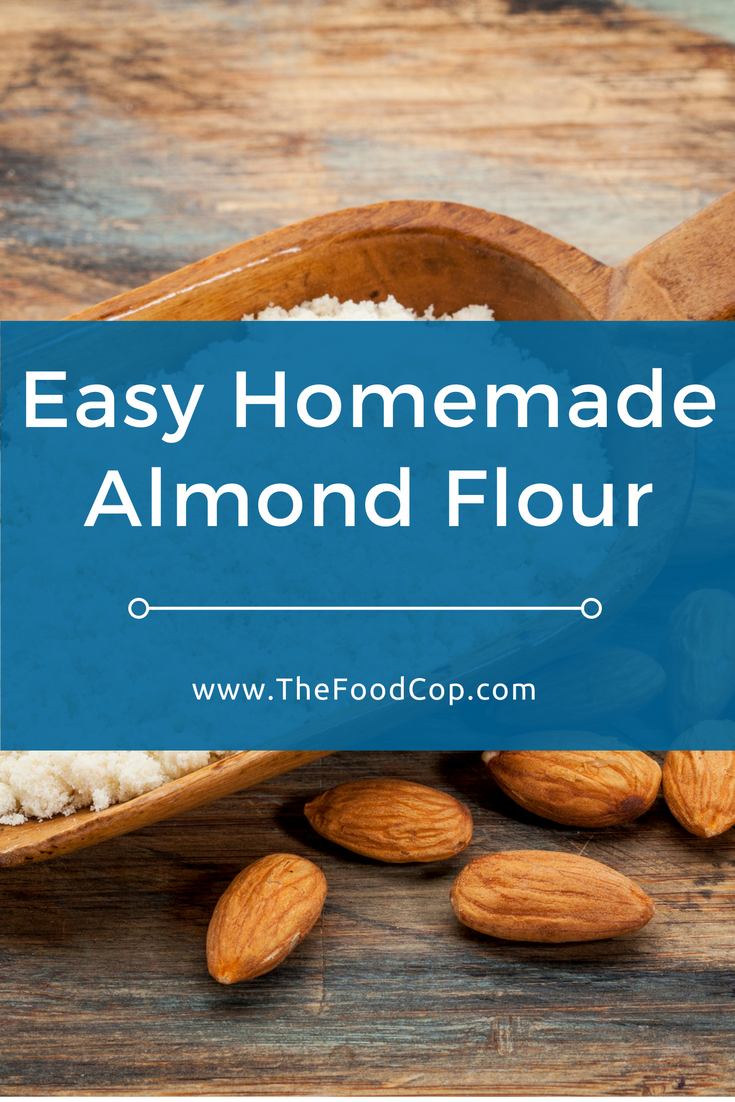Make your own almond flour in just a few minutes - all you need are some almonds & a blender. Click to read through.