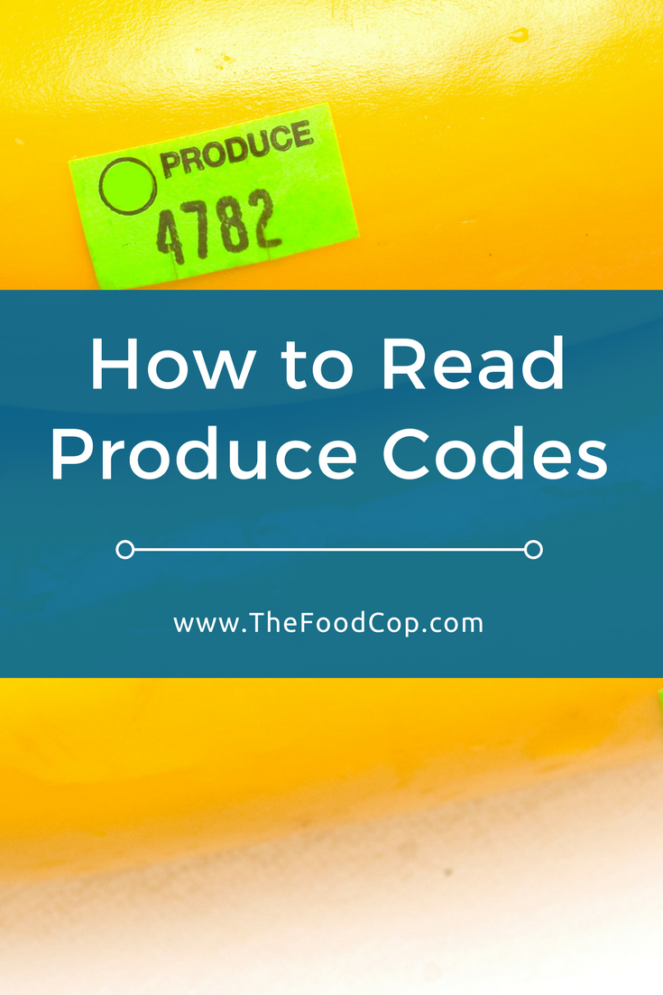 produce codes | PLU codes | grocery shopping | produce | The Food Cop