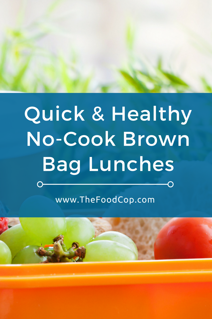 brown bag lunch | brown bag lunch ideas | healthy lunch | The Food Cop